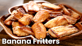 Banana Fritters / Easy To Make Snack Recipe / Masala Trails