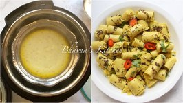 Khandvi (Paturi) In Instant Pot Cosori Electric Pressure Cooker