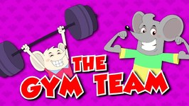 The Gym Team - Funny Videos - Cartoons For Kids - Cookie And Looke