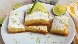 Dessert Recipe- Margarita Bars