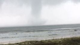 Waterspout Forms Off St. George Island as Tropical Storm Gains Steam in the Gulf