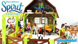 At the Farm with Lucky Pru and Abigail Spirit Riding Free Playmobil Playsets