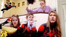Escape the Babysitter! Noah's Spider-Man: Into The Spider-Verse Movie Night Showdown
