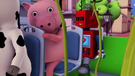 Wheels On The Bus - Part 3 - Little Baby Bum - Nursery Rhymes for Babies - Videos for Kids