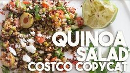 Quinoa Salad - COSTCO Copycat GLUTEN Free VEGETARIAN