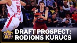2017 NBA Draft Profile - Rodions Kurucs - SF, Barcelona