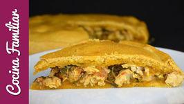 Como hacer una empanada gallega de atún - Recetas de empanada