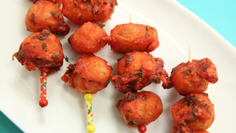 Potato Lollipop Recipe In Marathi - Homemade Veg Lollipop - Archana