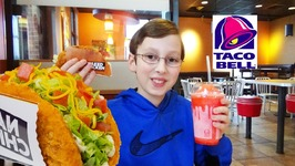 Taco Bell Naked Chicken Chalupa Kid Taste Test Review