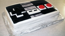 Retro Nintendo Controller  Kool-aid Cake (how-to)
