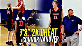 7'3 Connor Vanover Is A 2k Cheat Code My Player He Can Shoot Too Findlay Vs Az Compass Highlights