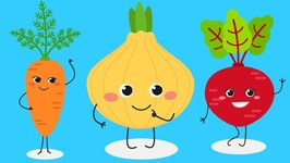 Vegetables for Kids - Learn Vegetable Names in English for Preschoolers and Toddlers