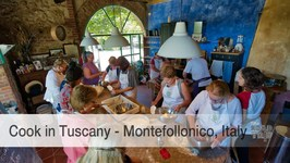 A look at Cook in Tuscany - an incredible cooking school experience in Tuscany, Italy