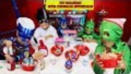 PJ MASKS ICE CREAM SUNDAE CHALLENGE