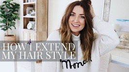 How I Extend My Hair Style for 3 Days