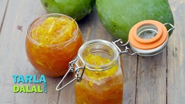 Quick Mango Chunda - Aam Ka Chunda - Gujarati Raw Mango Sweet Pickle