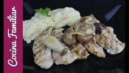 Pechuga de pollo con salsa de limón - Recetas para dieta