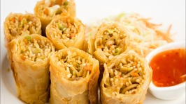 Vegetable Spring Rolls - Restaurant Style With Sheets