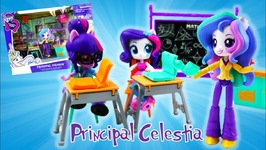 Principal Celestia Lessons and Laughs Class - My Little Pony Equestria Girls Minis Playset