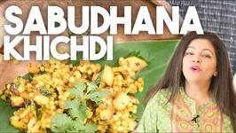 Sabudhana Khichdi - Savory Tapioca Stirfry