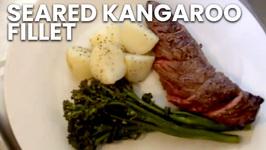 Seared Kangaroo Fillet