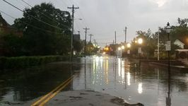 Irma Brings Flooding to Charleston, South Carolina