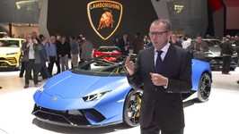 Lamborghini Huracan Performante Spyder - Interview Stefano Domenicali