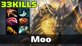 Moo 33 KILLS Clinkz Dota 2