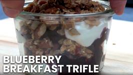 Blueberry Breakfast Trifle