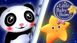 Star Light Star Bright - Nursery Rhyme With Twinkle Star and Baby Panda