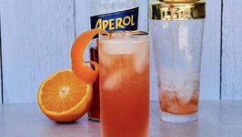 Bourbon Aperol Fizz