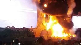 Fire on Stage of Tomorrowland Unite Rave Festival Forces Evacuation