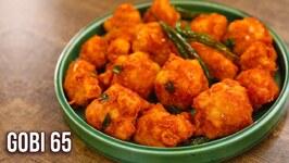 Gobi 65  Crispy Cauliflower Fry  Gobhi 65 Dry Recipe  Starter Recipe By Ruchi