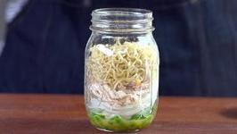 Chicken and Dill Instant Noodles