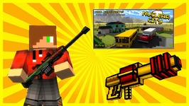Pixel Gun 3D - Nuke Town - Laser Cannon Kills And Sword Snipes