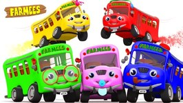Bus Finger Family - Bus Family - Buses Finger Family - Bus Rhyme - Kids Songs