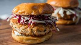 The Best Salmon Burgers