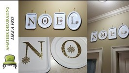Dollar Tree EASY NOEL Wall Art