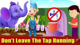 Don't Leave The Tap Running - Environmental Song In Ultra Hd (4K)