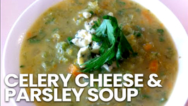 Celery Cheese And Parsley Soup
