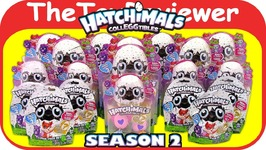 Hatchimals CollEGGtibles Season 2 Blind Bags Eggs Golden Lynx Unboxing Toy Review