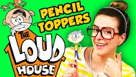 The Loud House DIY Pencil Topper - Lincoln Loud - Arts and Crafts with Crafty Carol
