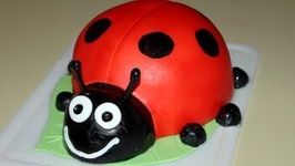 Lady Bug Cake (How To)