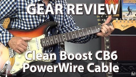 Clean Boost Cb6 Powerwire Cable By R&M Tone Technology - Gear Review
