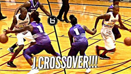 Jamal Crawford Puts It Around Defender To Cap Undefeated Season In Championship Game