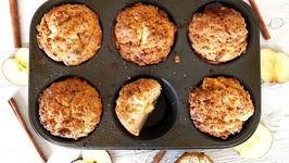 Breakfast Recipe: Apple Crumb Muffins
