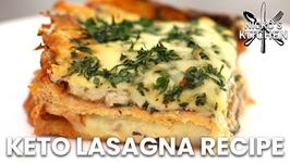 Keto Lasagna Recipe / How To Make Low Carb Pasta Sheets