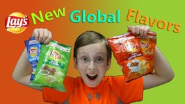 Lays Potato Chips New Global Flavors Taste Test Review