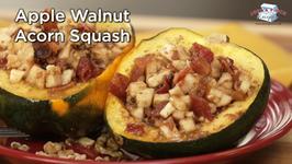 Apple Walnut Acorn Squash