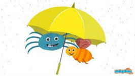Avoid Getting Drenched In The Rain - Health Tips For Kids